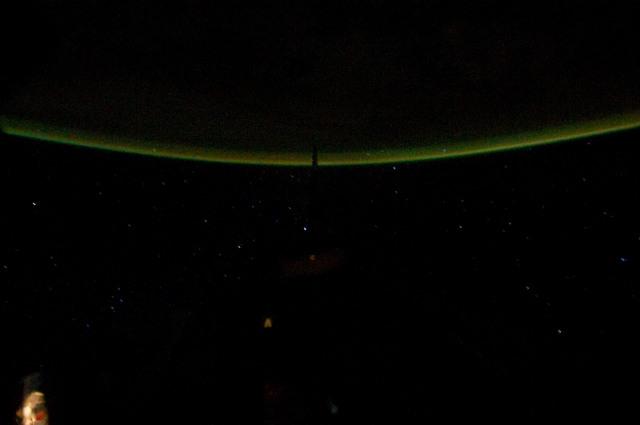 S134E012309 - STS-134 - Earth Observation taken from Aft Flight Deck Window