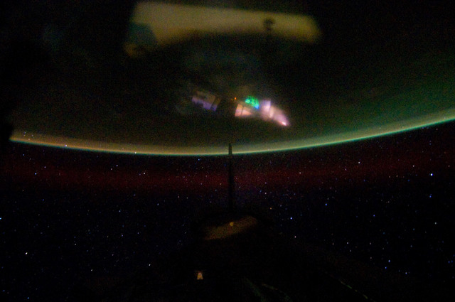 S134E012325 - STS-134 - Earth Observation taken from Aft Flight Deck Window