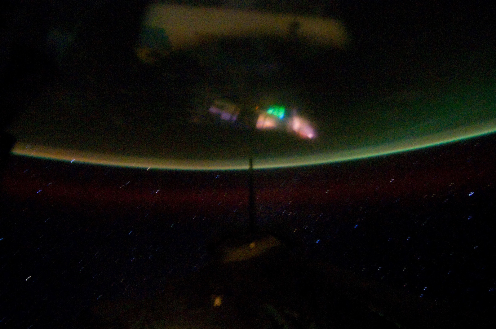 S134E012326 - STS-134 - Earth Observation taken from Aft Flight Deck Window