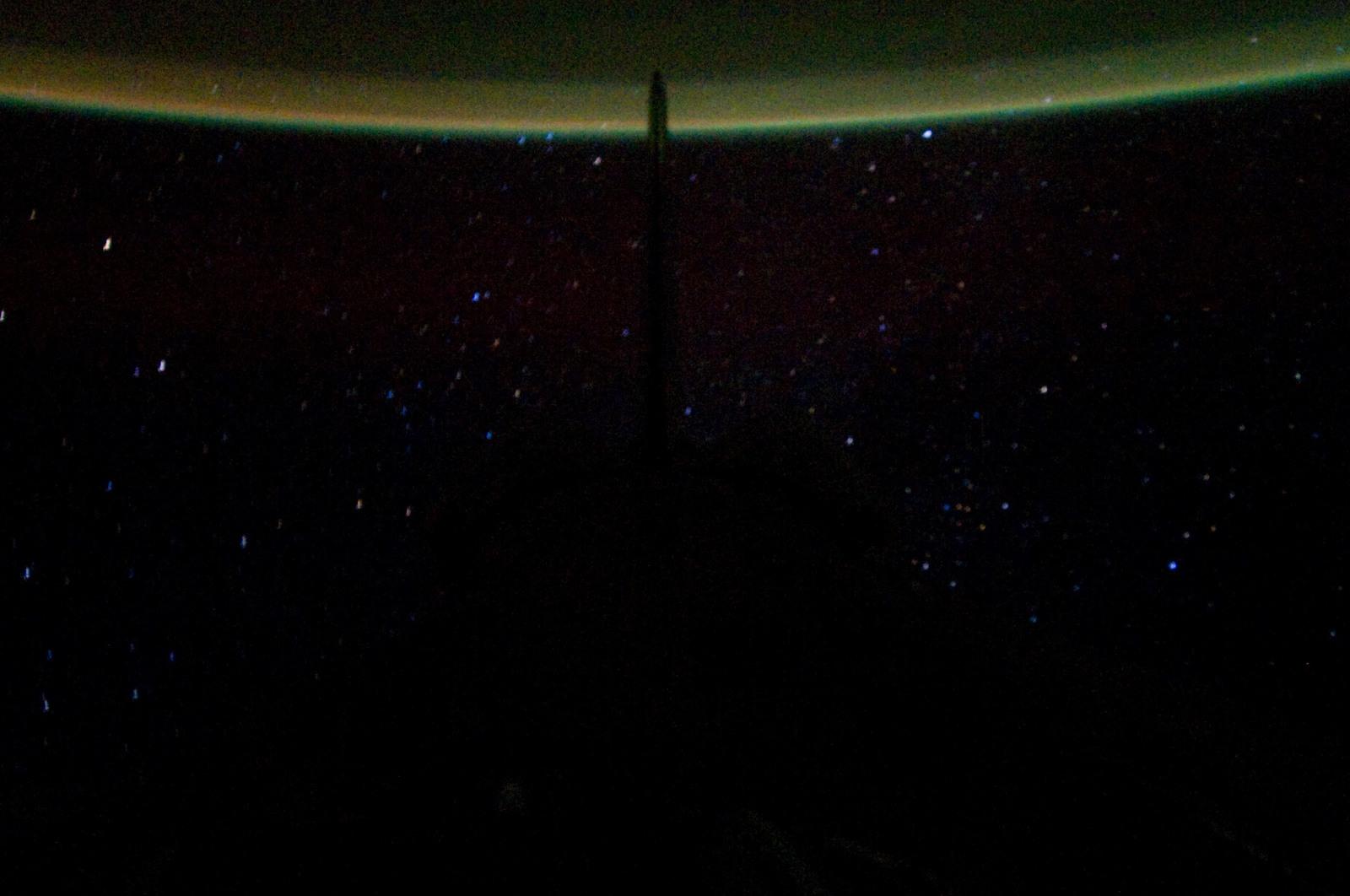 S134E012330 - STS-134 - Earth Observation taken from Aft Flight Deck Window