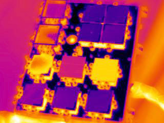 S134E013067 - STS-134 - Infrared view of the STP-H3-VADER Experiment