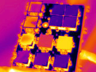 S134E013134 - STS-134 - Infrared view of the STP-H3-VADER Experiment