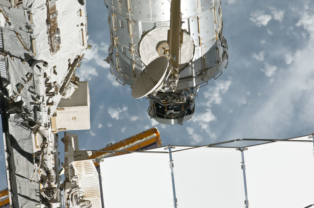 S135E010847 - STS-135 - Flyaround View of PMA-3