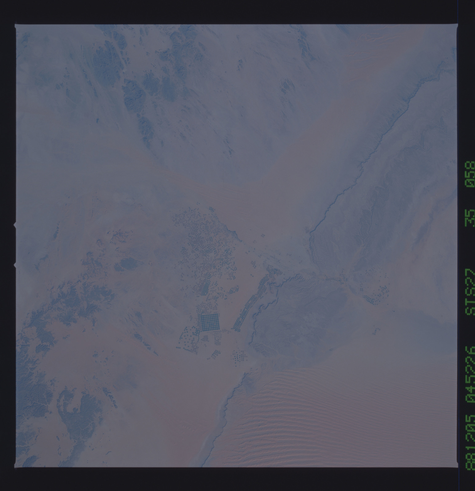 S27-35-058 - STS-027 - STS-27 earth observations