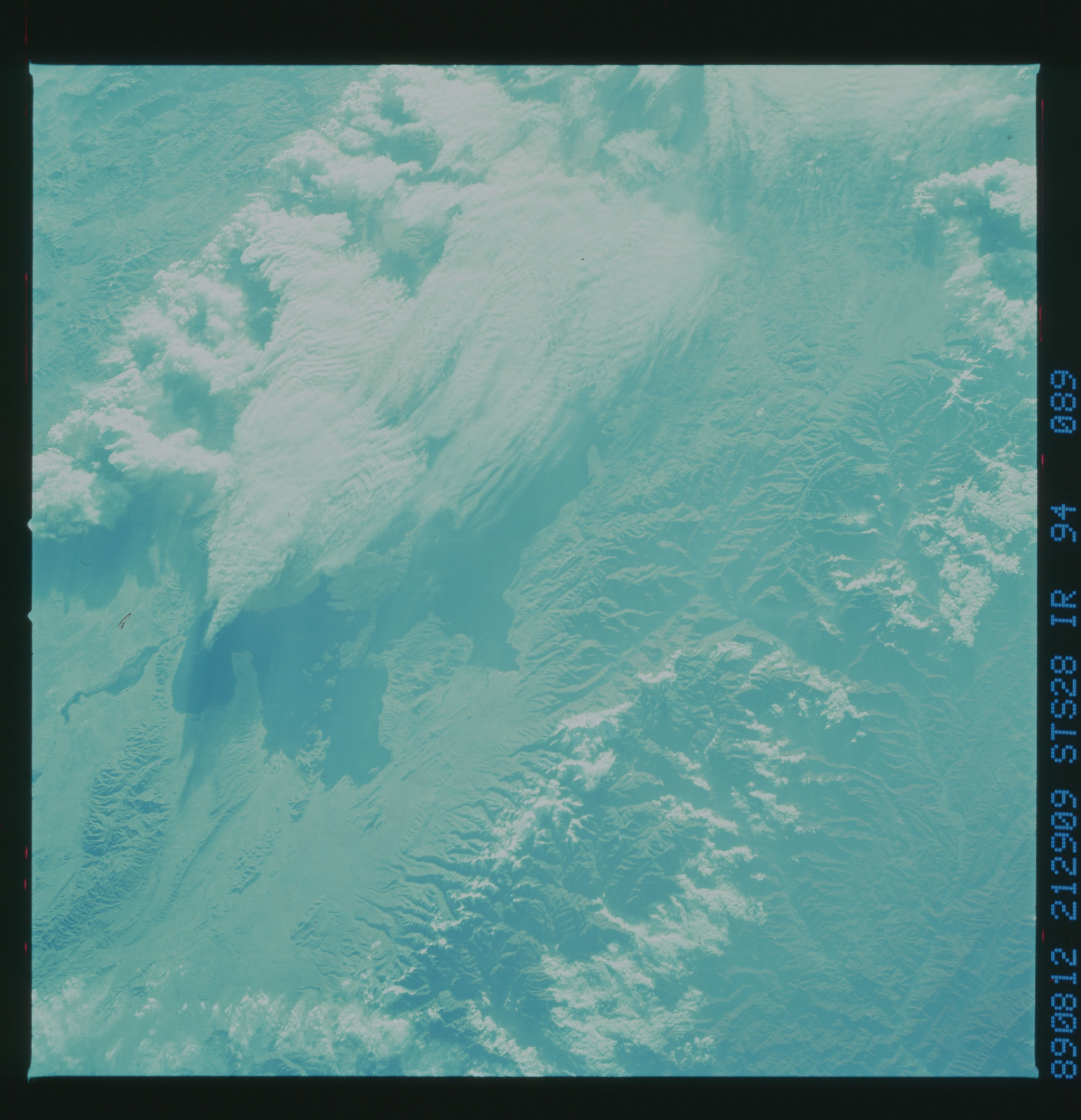 S28-94-089 - STS-028 - Infrared Earth observations taken the STS-28 mission