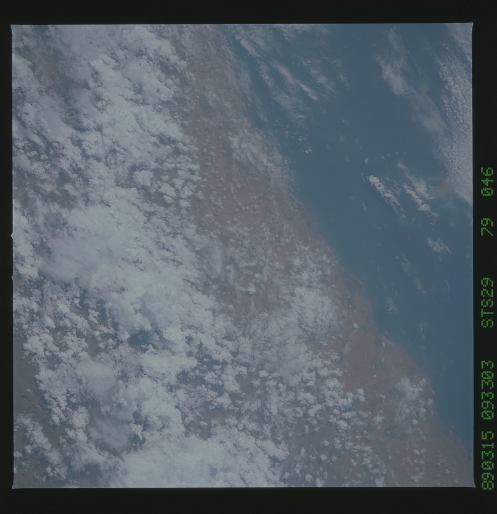 S29-79-046 - STS-029 - STS-29 earth observations
