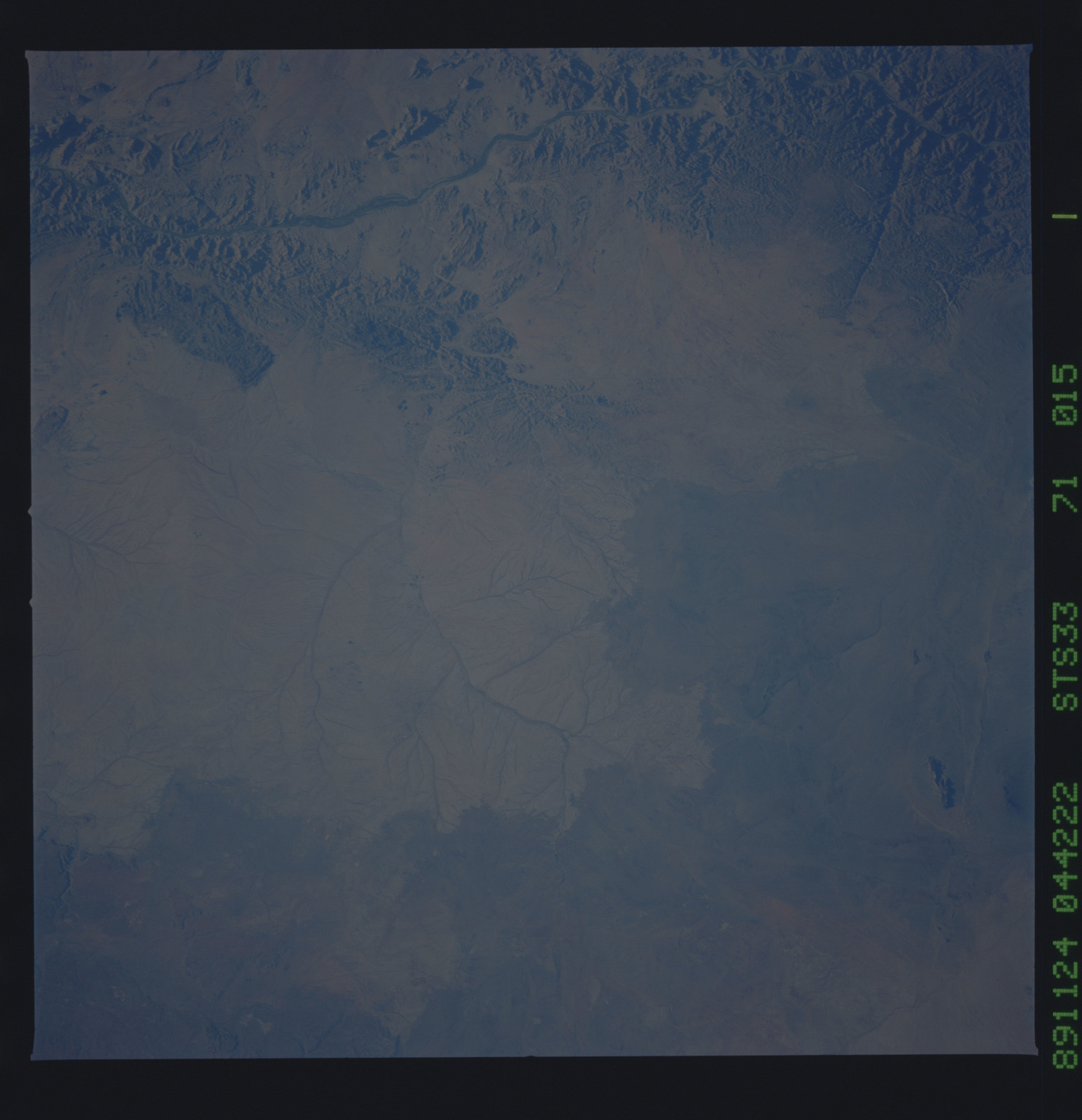 S33-71-015 - STS-033 - STS-33 earth observations
