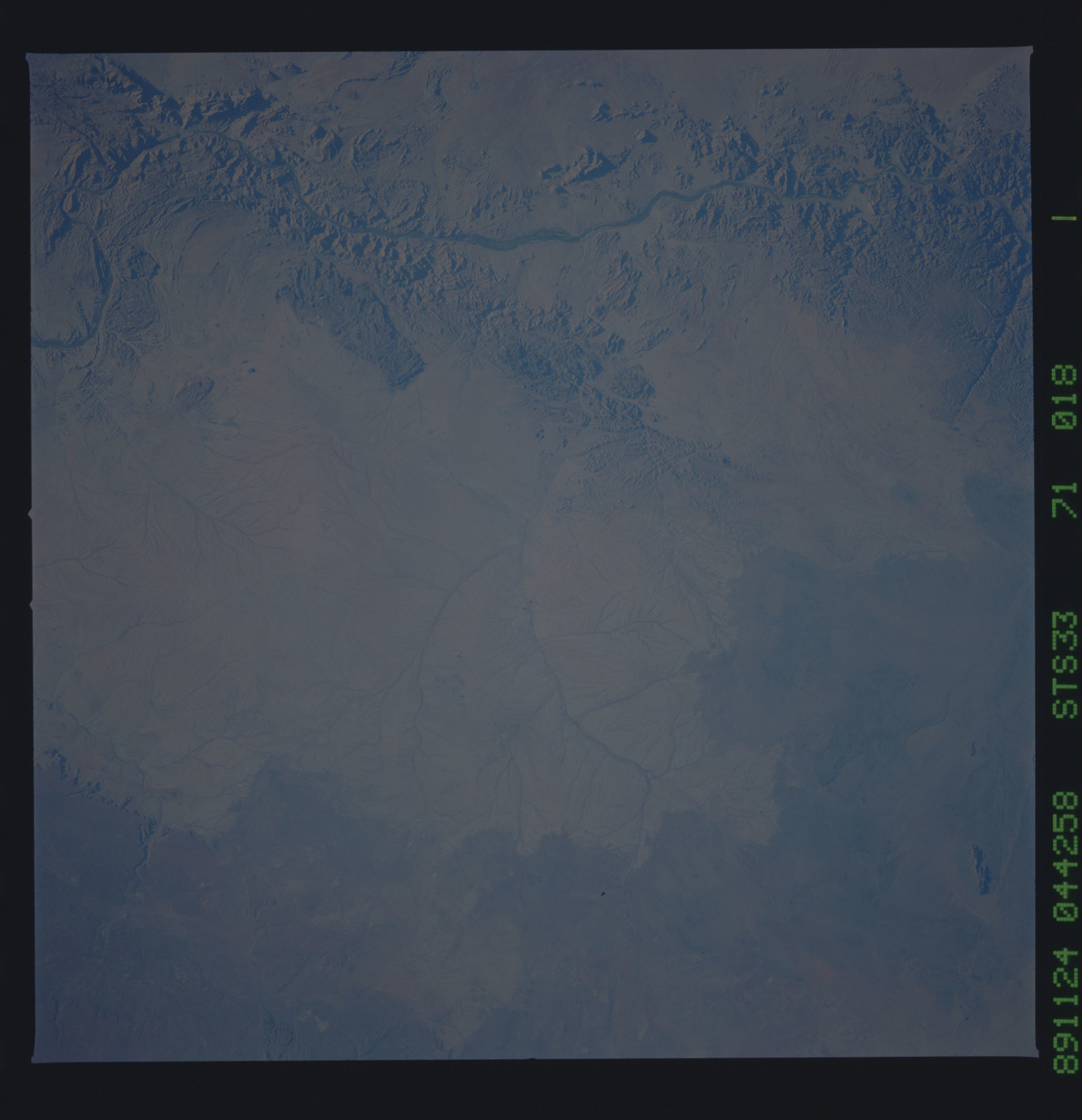 S33-71-018 - STS-033 - STS-33 earth observations