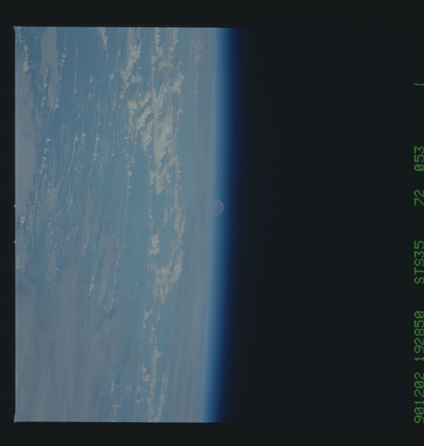 S35-73-009 - STS-035 - Earth observation taken during the STS-35 mission