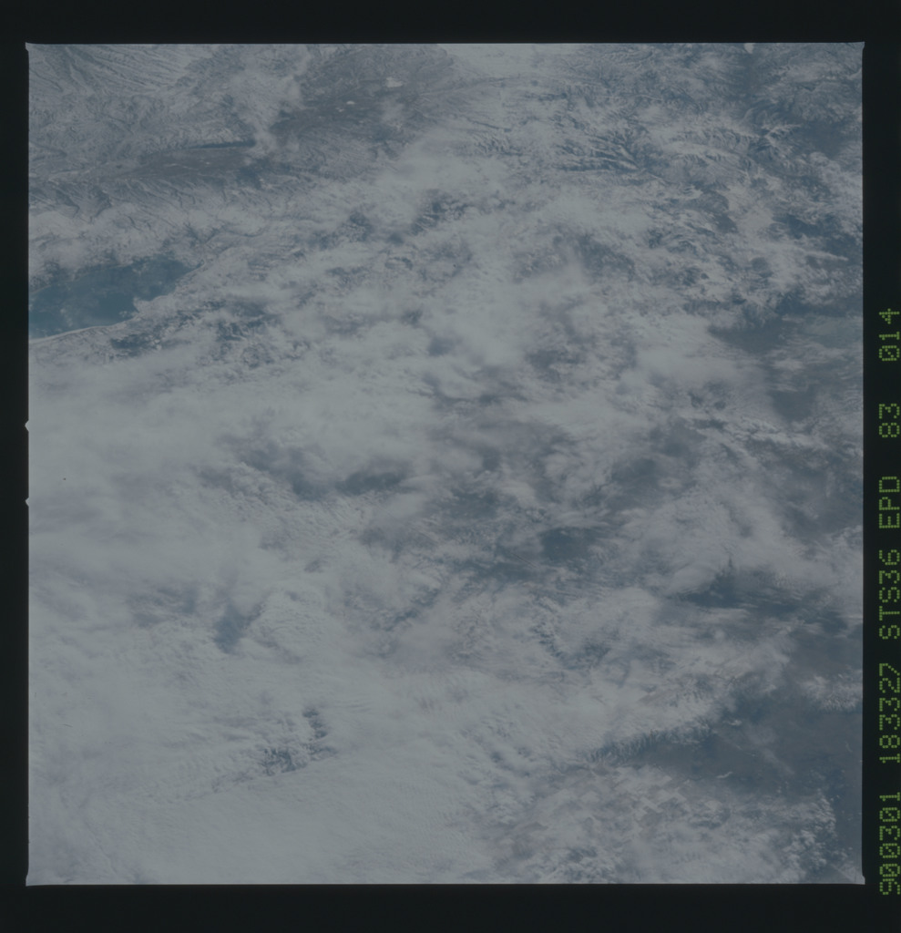 S36-83-014 - STS-036 - STS-36 earth observations