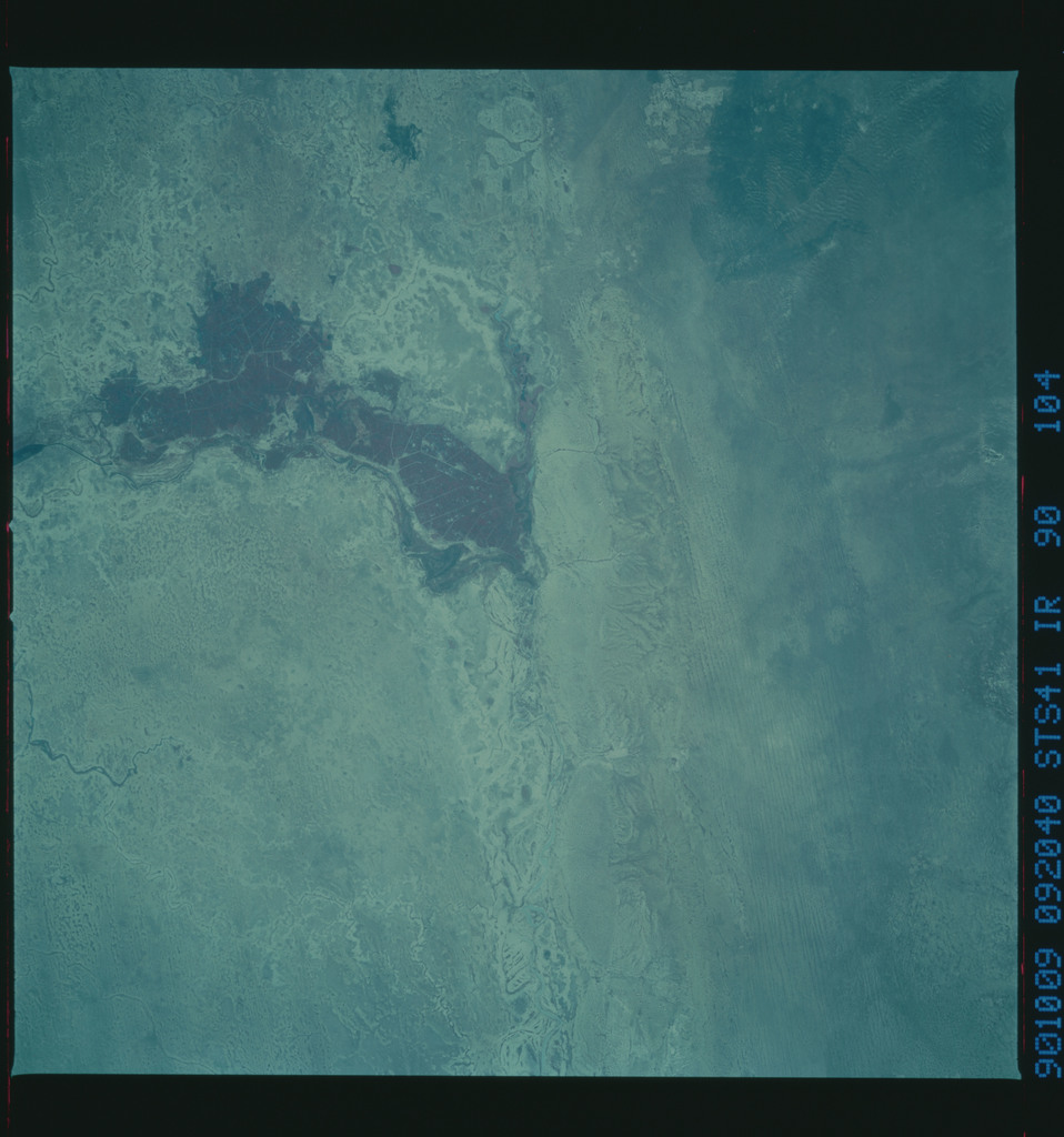 S41-90-104 - STS-041 - STS-41 earth observations