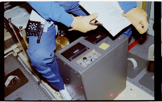 S42-205-014 - STS-042 - SAMS