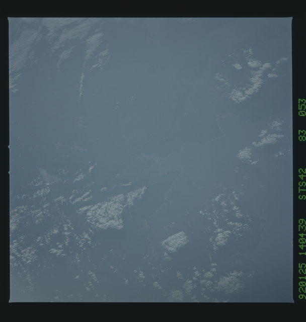 S42-83-053 - STS-042 - STS-42 earth observations