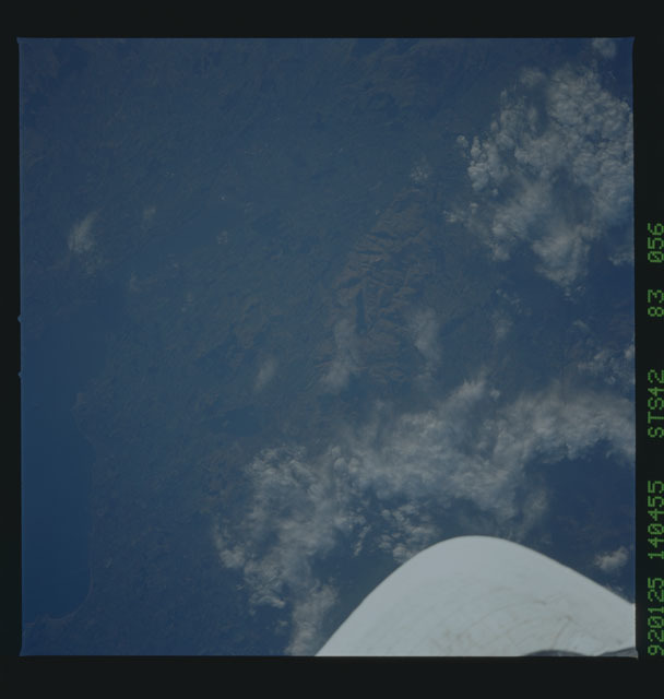 S42-83-056 - STS-042 - STS-42 earth observations