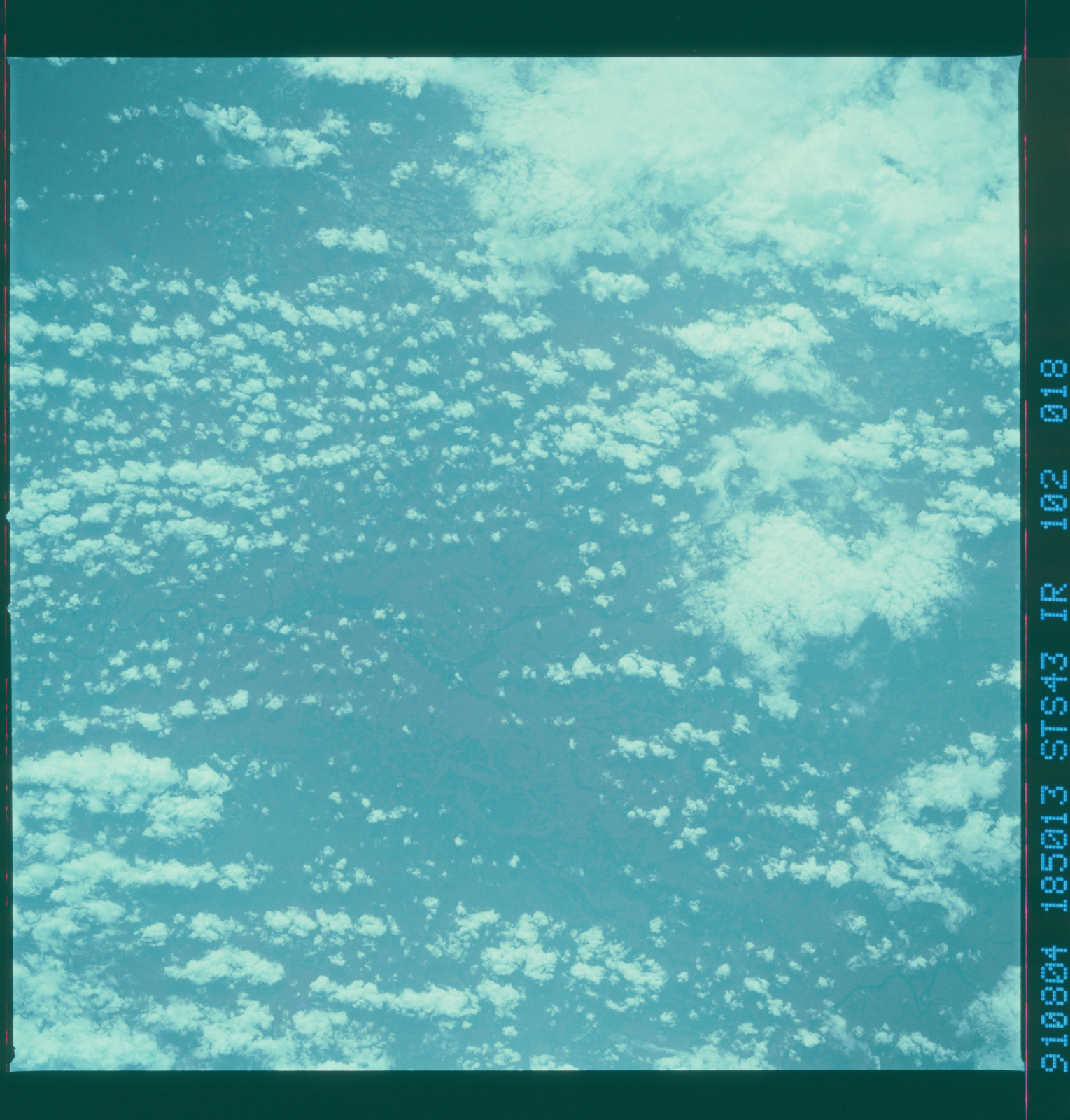S43-102-018 - STS-043 - STS-43 earth observations