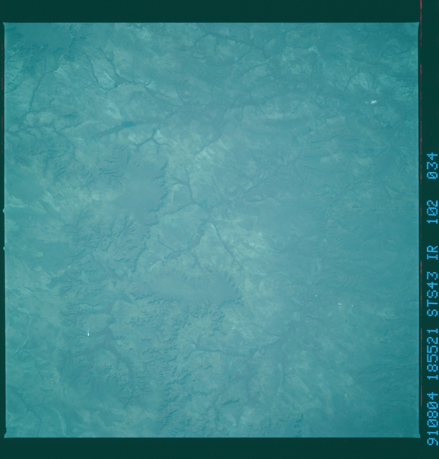 S43-102-034 - STS-043 - STS-43 earth observations