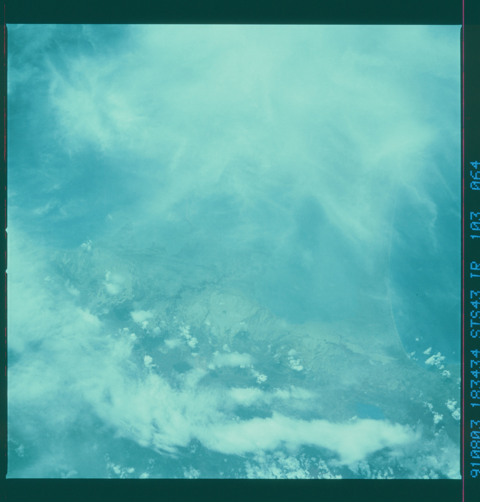 S43-103-064 - STS-043 - STS-43 earth observations