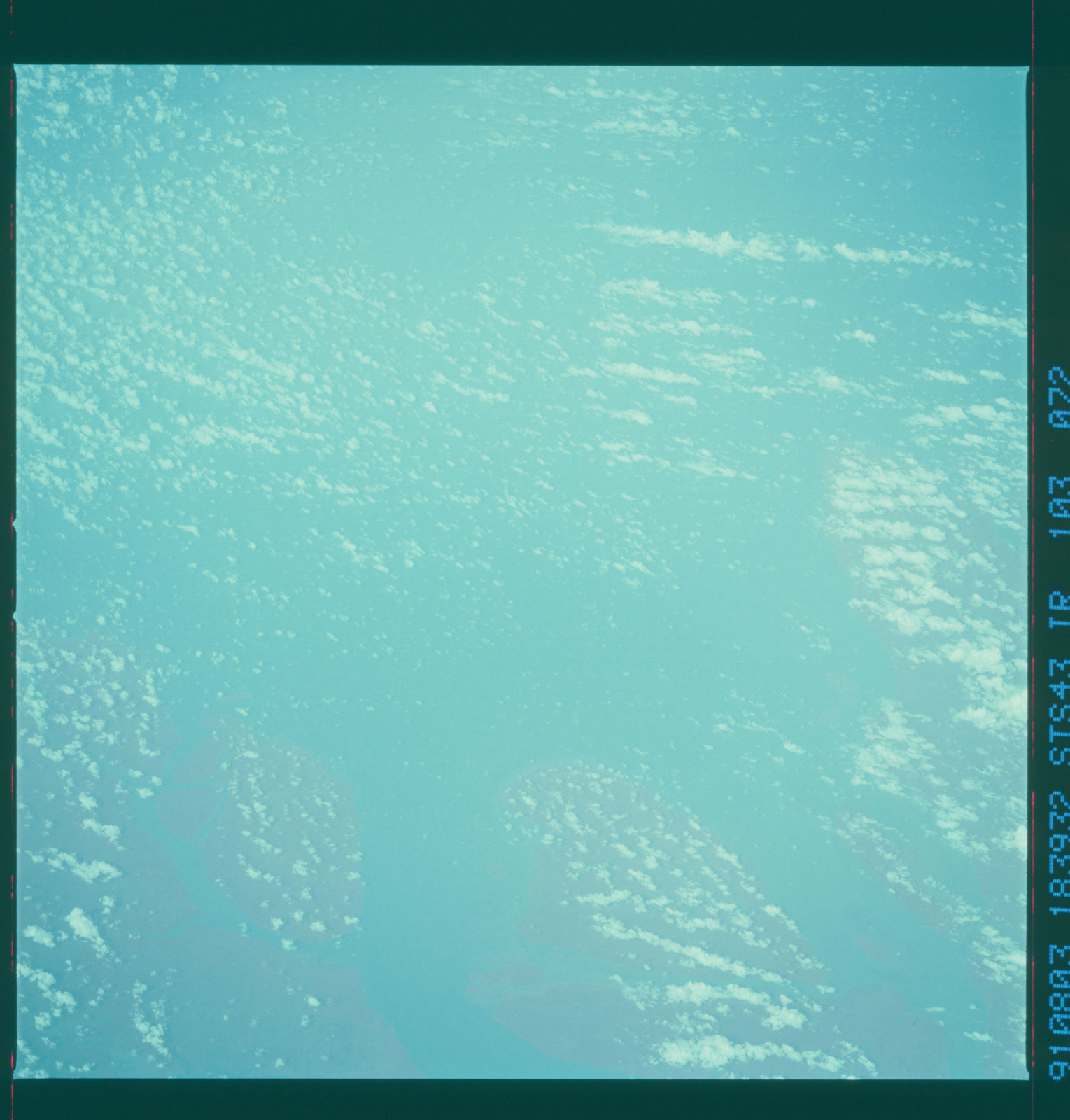 S43-103-072 - STS-043 - STS-43 earth observations