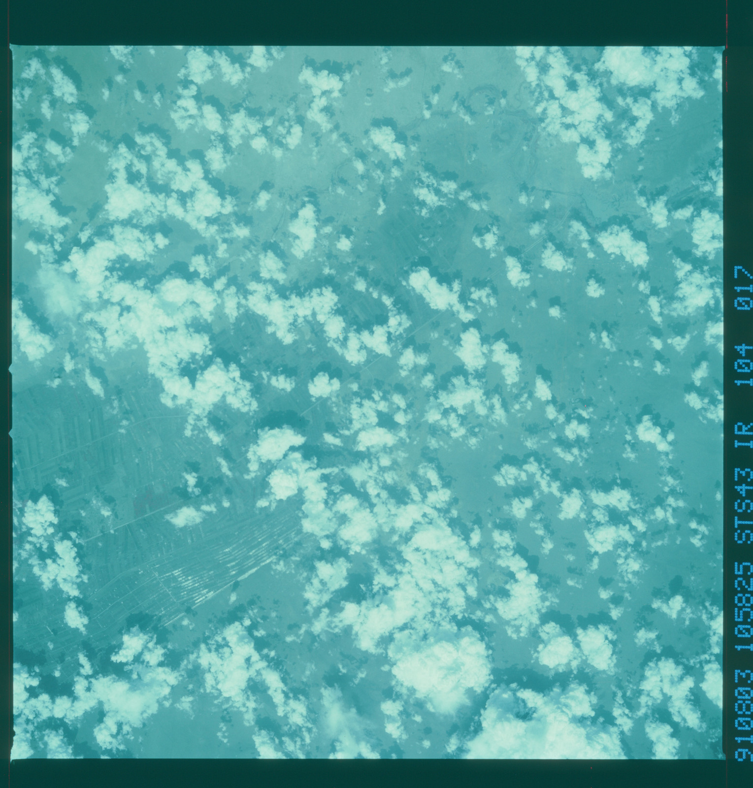 S43-104-017 - STS-043 - STS-43 earth observations