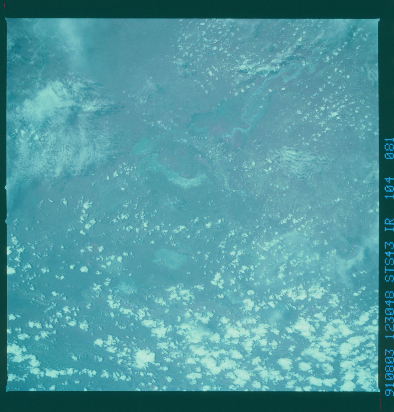S43-104-081 - STS-043 - STS-43 earth observations