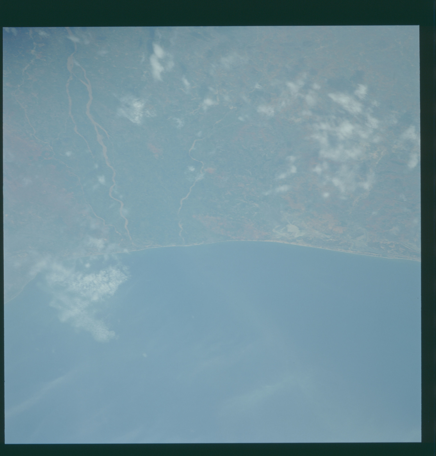 S43-607-020 - STS-043 - STS-43 earth observations