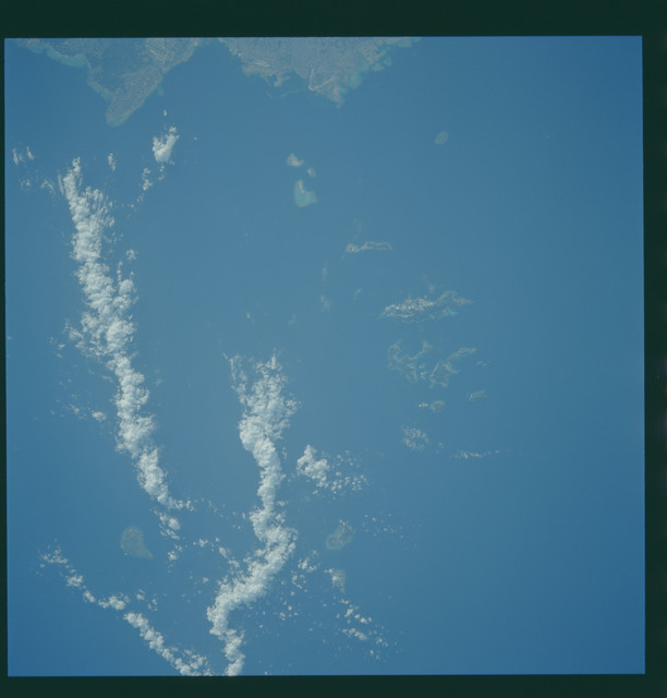 S43-608-043 - STS-043 - STS-43 earth observations