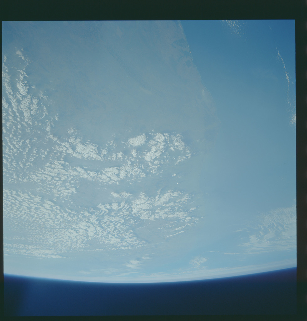 S43-610-030 - STS-043 - STS-43 earth observations