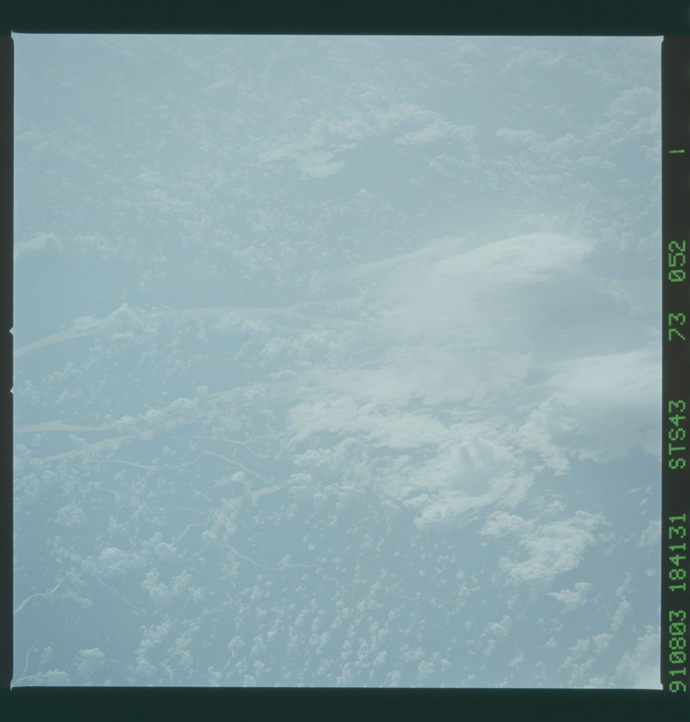 S43-73-052 - STS-043 - STS-43 earth observations