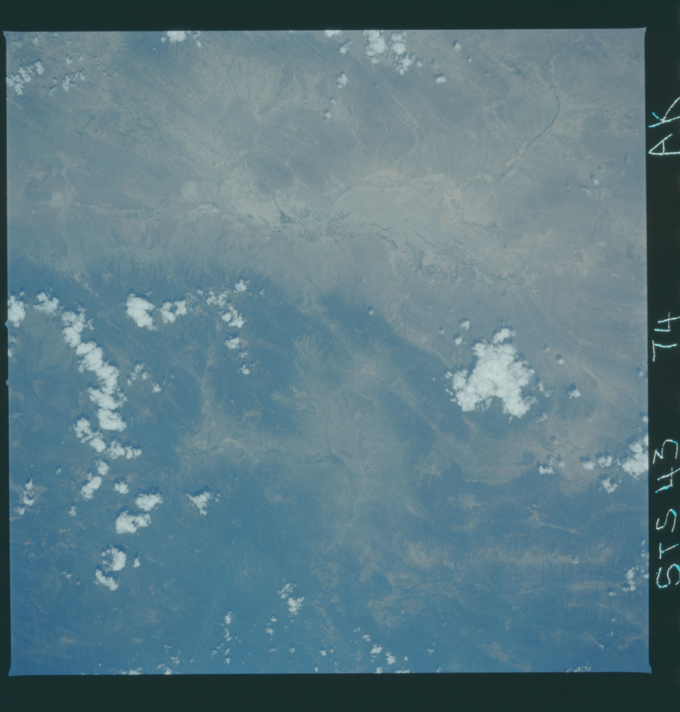 S43-74-000AK - STS-043 - STS-43 earth observations