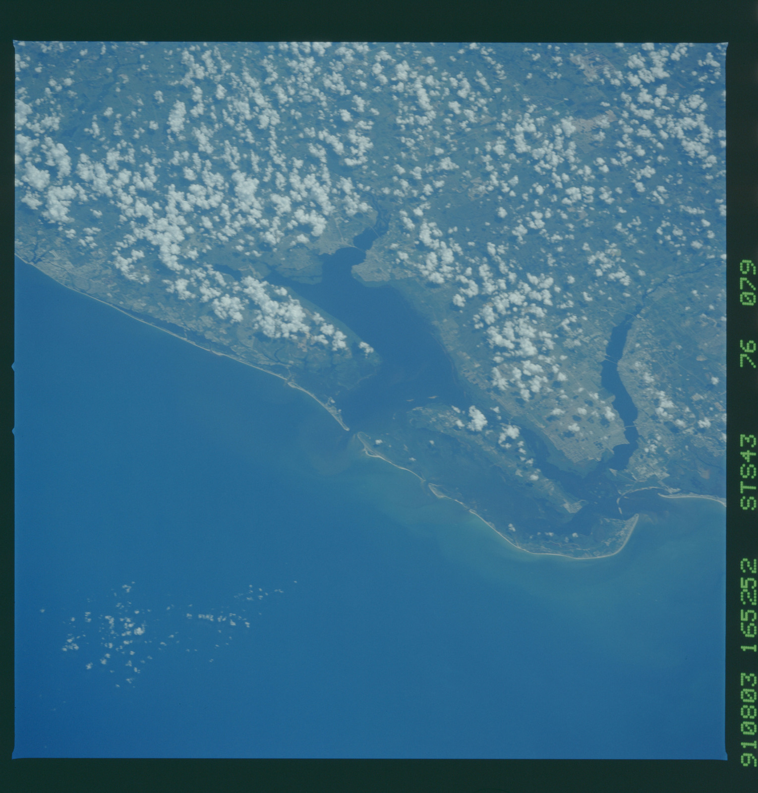 S43-76-079 - STS-043 - STS-43 earth observations