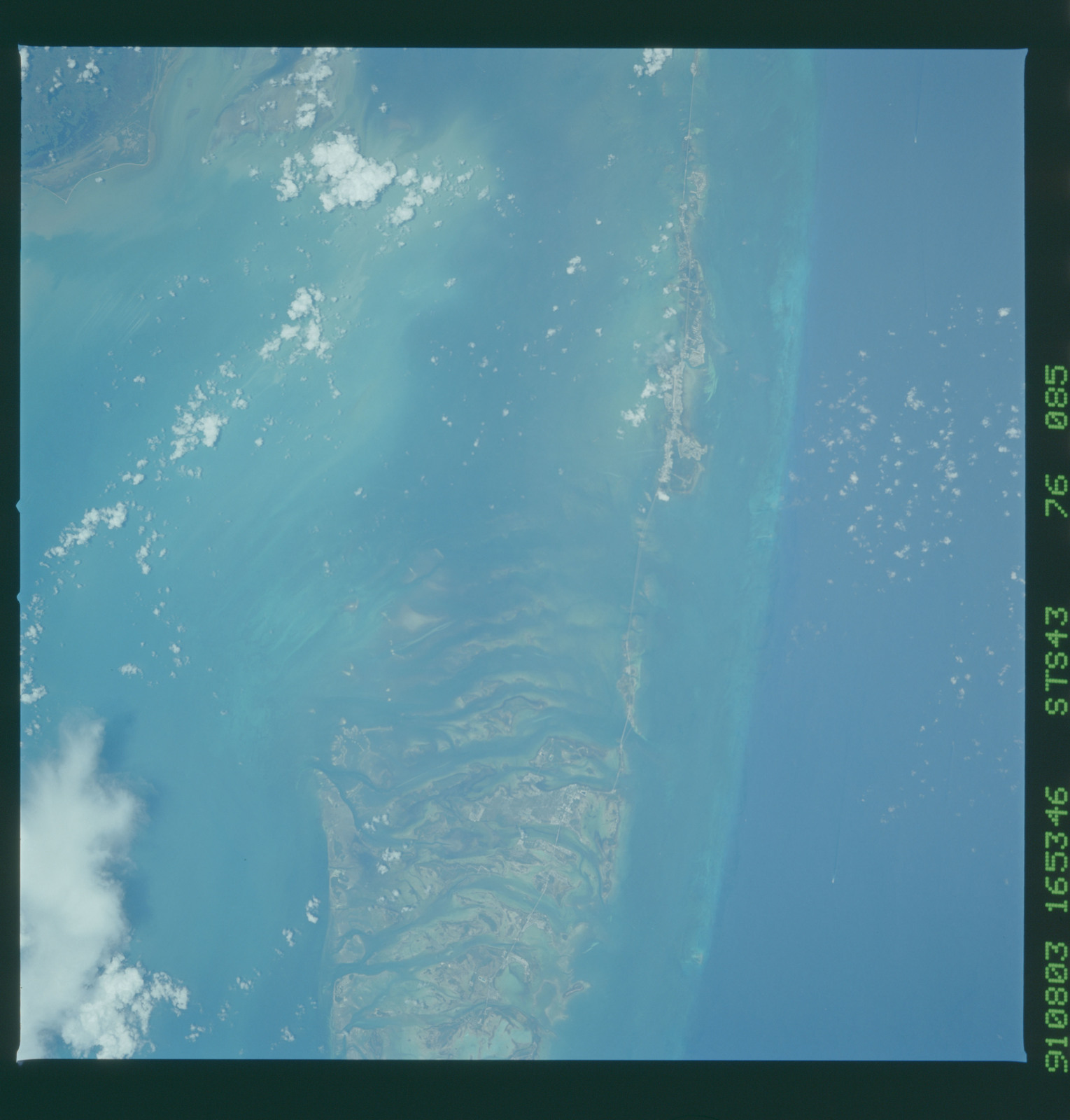 S43-76-085 - STS-043 - STS-43 earth observations
