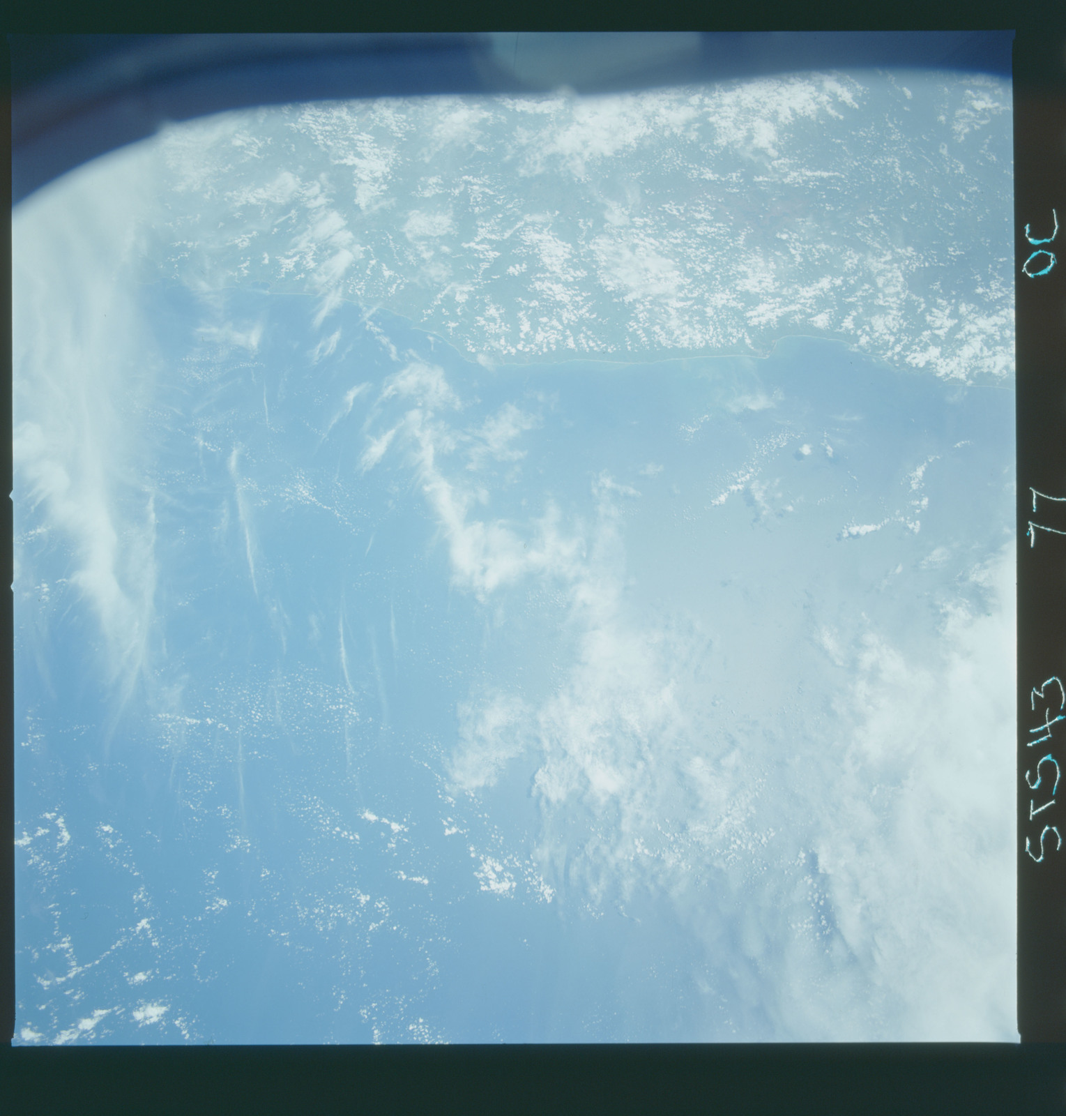 S43-77-000C - STS-043 - STS-43 earth observations