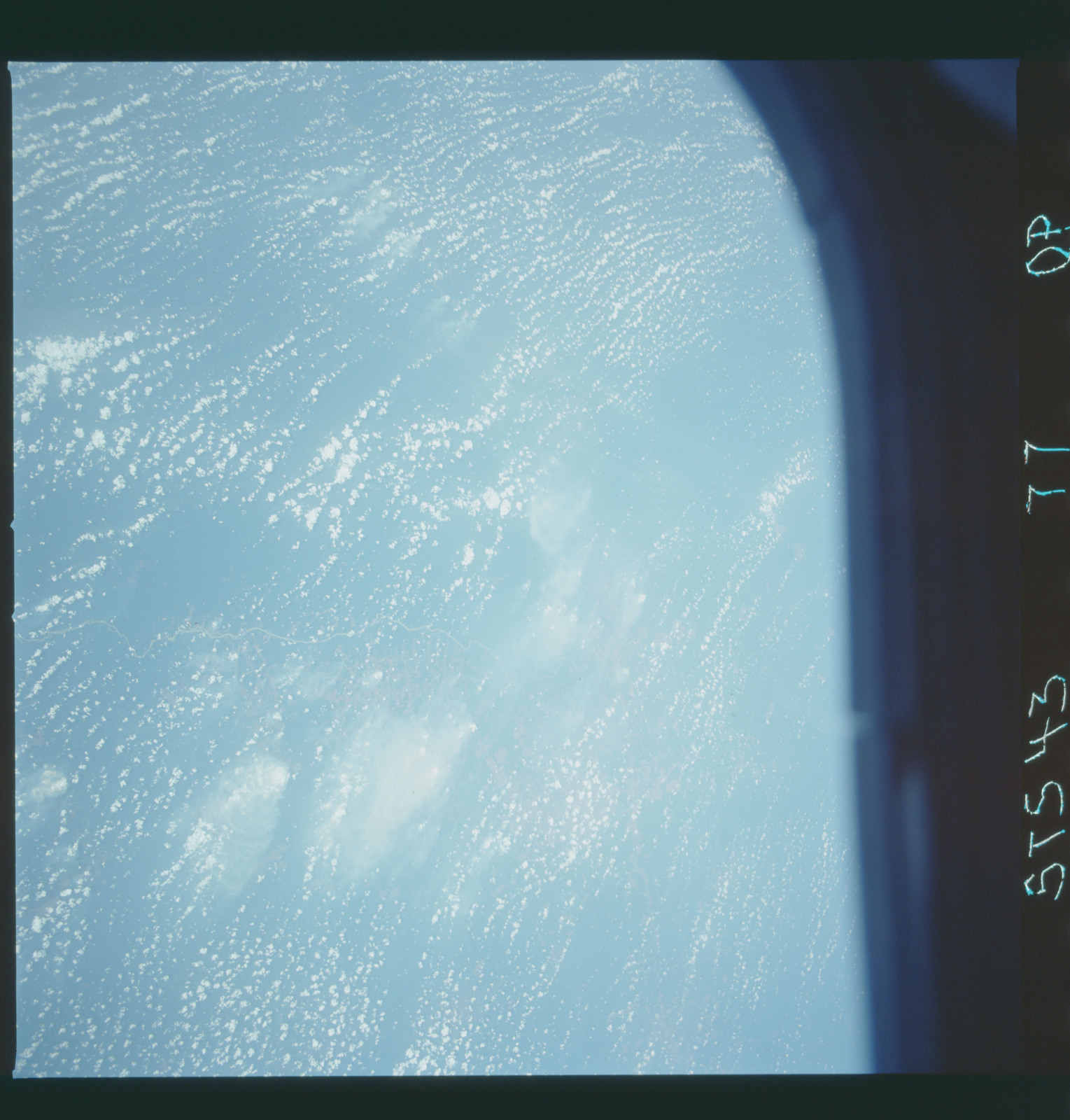 S43-77-000P - STS-043 - STS-43 earth observations