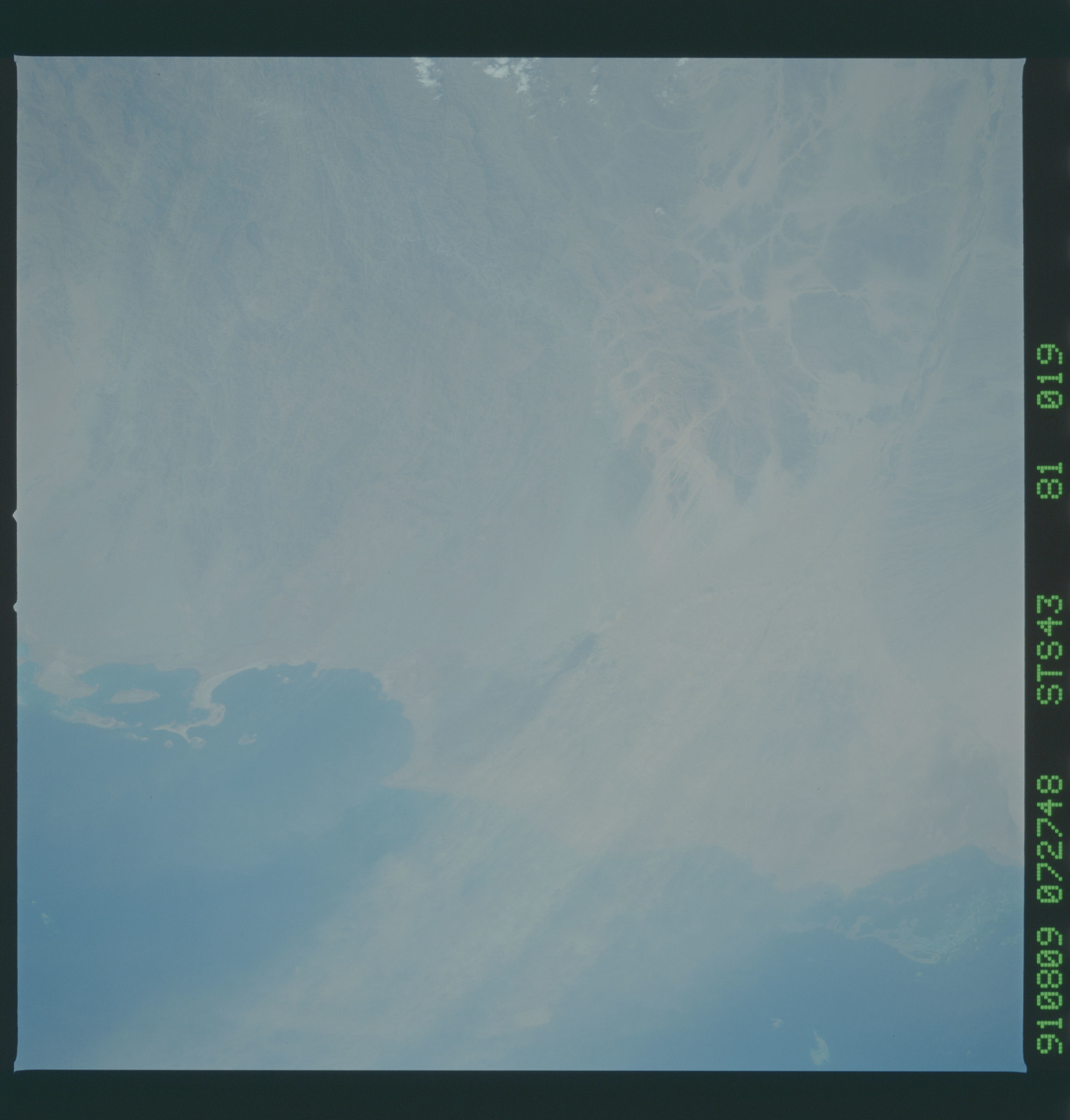 S43-81-019 - STS-043 - STS-43 earth observations