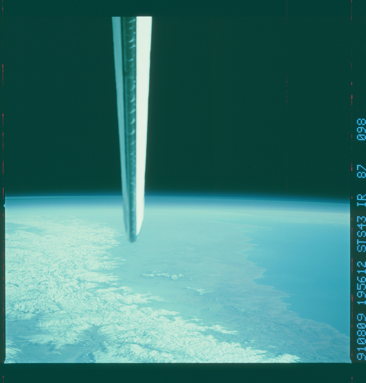 S43-87-098 - STS-043 - STS-43 earth observations