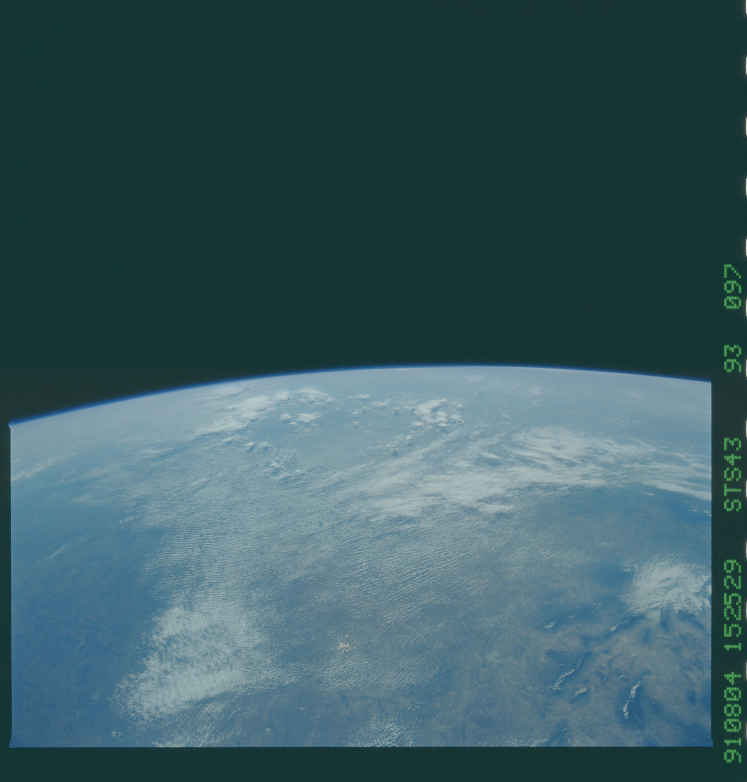 S43-93-097 - STS-043 - STS-43 earth observations