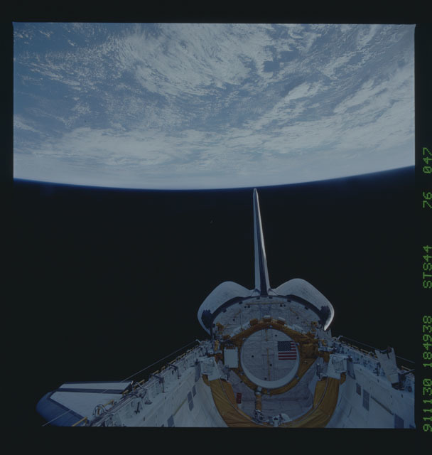 S44-76-047 - STS-044 - Earth observations taken during the STS-44 mission