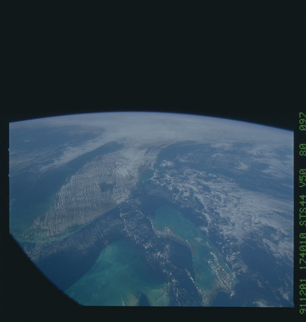 S44-80-097 - STS-044 - Earth observations taken during the STS-44 mission