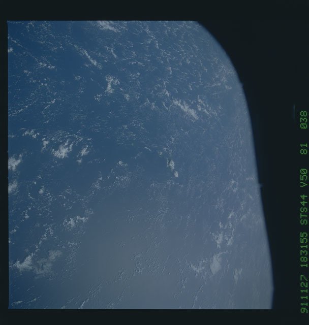 S44-81-038 - STS-044 - Earth observations taken during the STS-44 mission