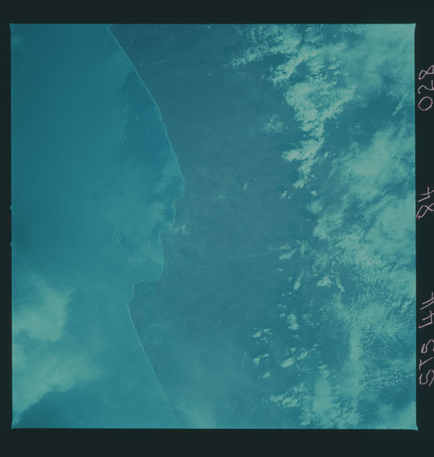 S44-84-028 - STS-044 - Earth observations taken during the STS-44 mission