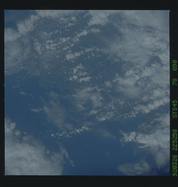 S45-78-090 - STS-045 - STS-45 earth observations