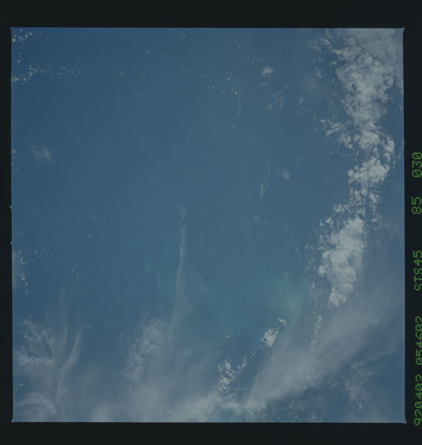 S45-85-030 - STS-045 - STS-45 earth observations
