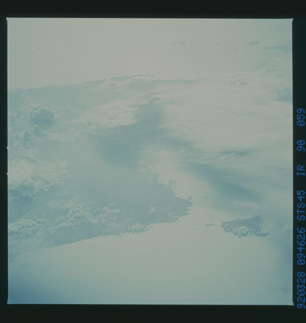 S45-90-059 - STS-045 - STS-45 earth observations