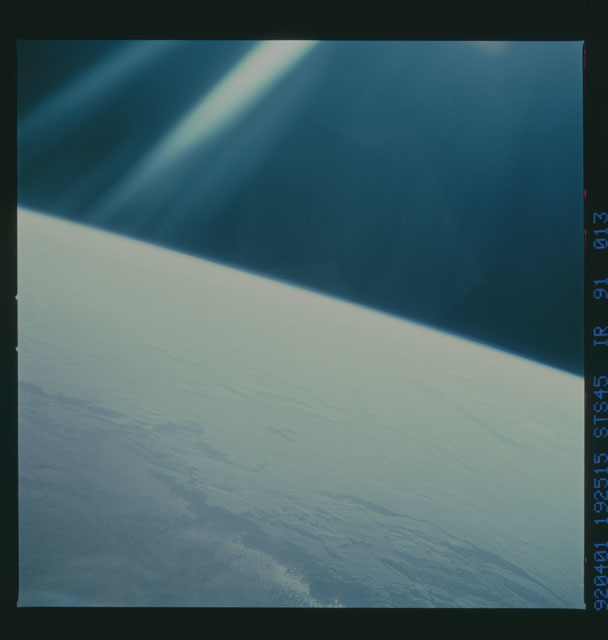 S45-91-013 - STS-045 - STS-45 earth observations