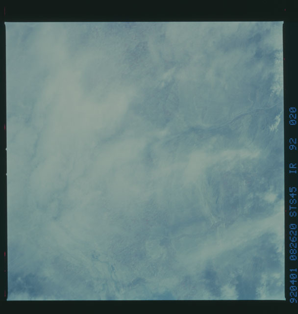 S45-92-020 - STS-045 - STS-45 earth observations