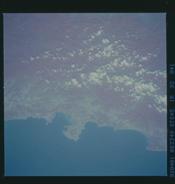 S45-92-041 - STS-045 - STS-45 earth observations