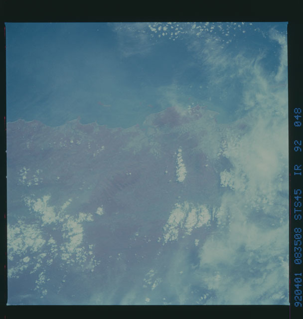 S45-92-048 - STS-045 - STS-45 earth observations