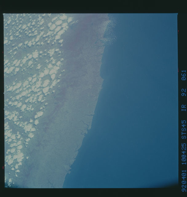 S45-92-061 - STS-045 - STS-45 earth observations
