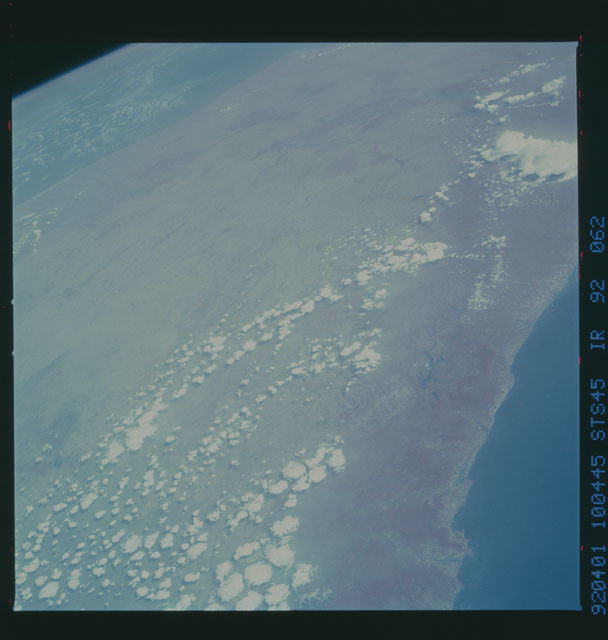 S45-92-062 - STS-045 - STS-45 earth observations
