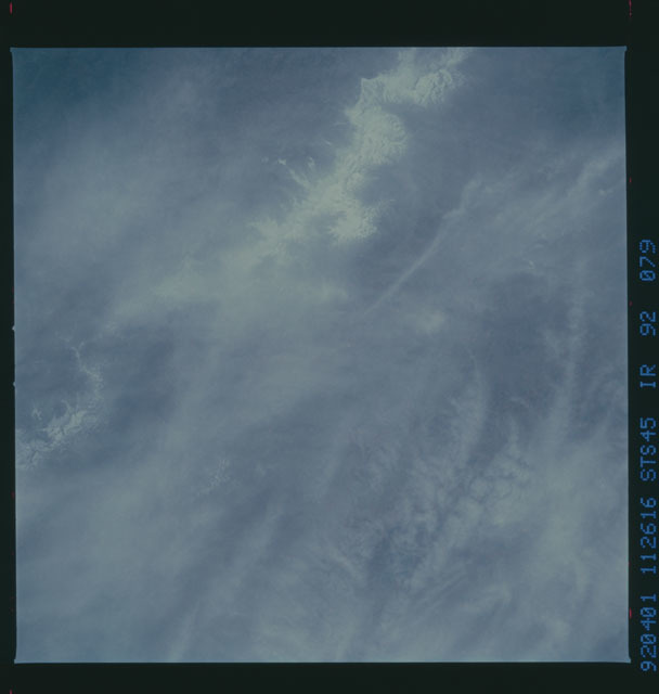 S45-92-079 - STS-045 - STS-45 earth observations